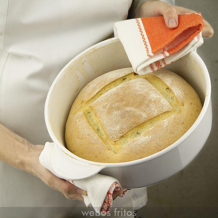 Cómo hacer pan en casa fácilmente: pan milagro. Videoreceta