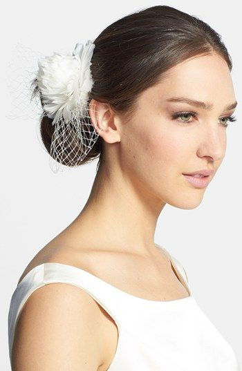 J-Picone 'Brooklyn' Floral Fascinator available at #Nordstrom