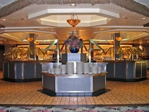 Emperor's Buffet at the Imperial Palace in Las Vegas. We had to try a buffet there...they're famous!