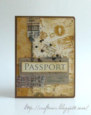 Мастерская моих увлечений: обложки на паспорт