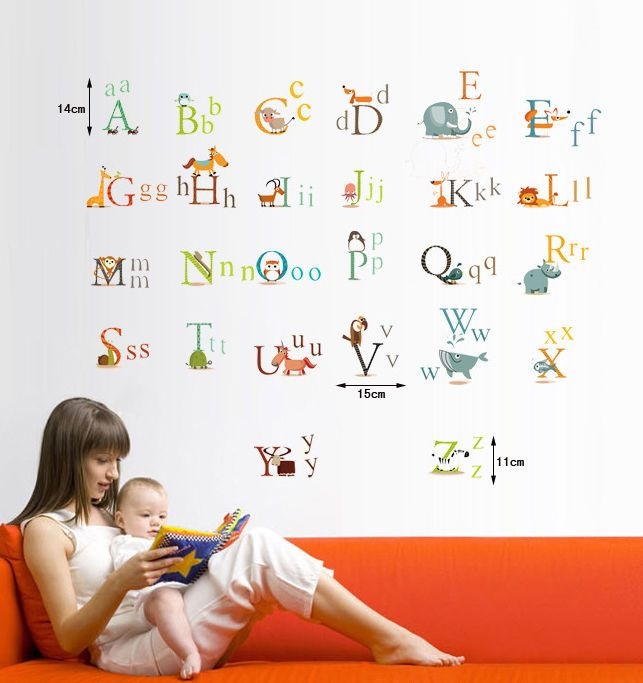 Wonderful ... Abc Wall Decals ... Part 28