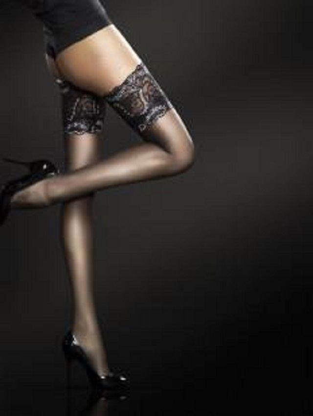 calze autoreggenti con balsa,in silicone floreale.su http://shopvetrine.shopmania.biz/