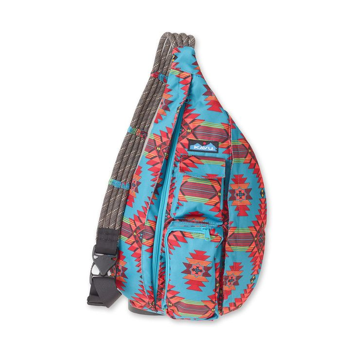 Monogrammed Kavu Rope Bags - Mojave Oasis - Great gift for College, Teens, Women, Outdoors Satchel Crossbody Tote by DesignsbyDaffy on Etsy