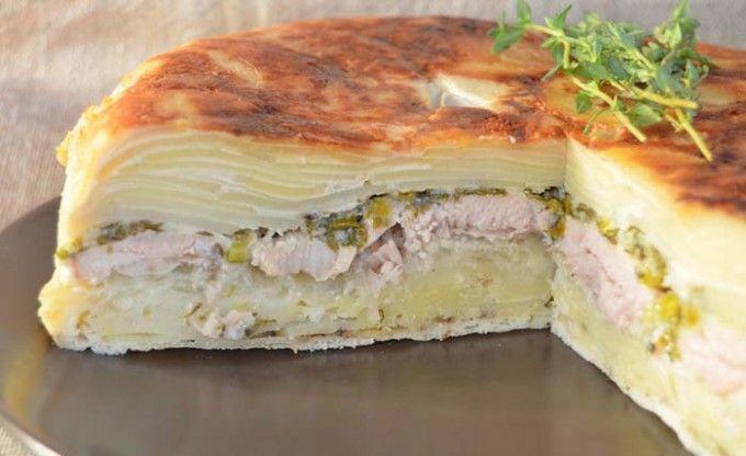 Bramborové lasagne | NejRecept.cz