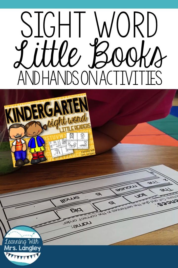 This reading intervention tool for sight words is perfect for kindergarten or fi…  – Sight Words