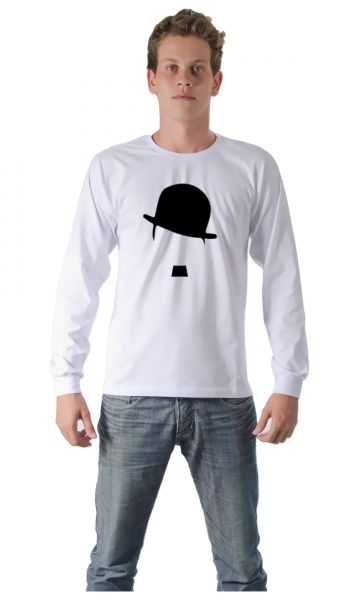 Camiseta Charlie Chaplin 01 - Loja de Camisetas|Camisetas Era Digital