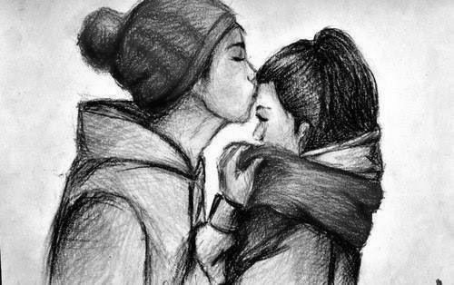 imagenes de amor a lapiz 14