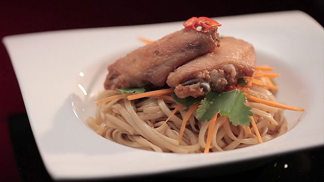 MKR4 Recipe - Crispy Chicken with Egg Noodles