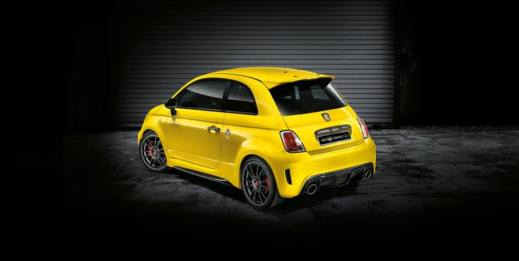 Abarth 695 Record Biposto Only 133 Units in World Back View
