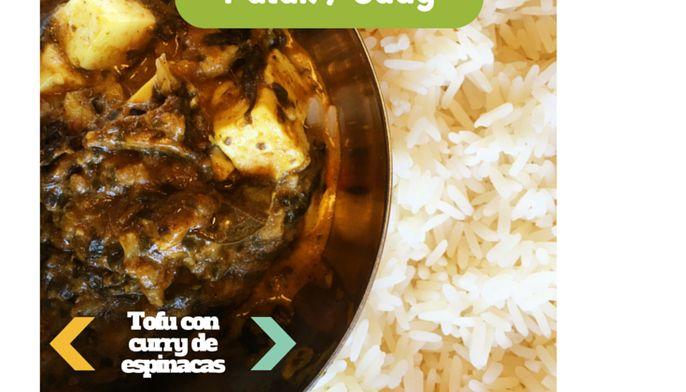 Garbanzos Tikka Masala - Mi Cocina Vegetariana