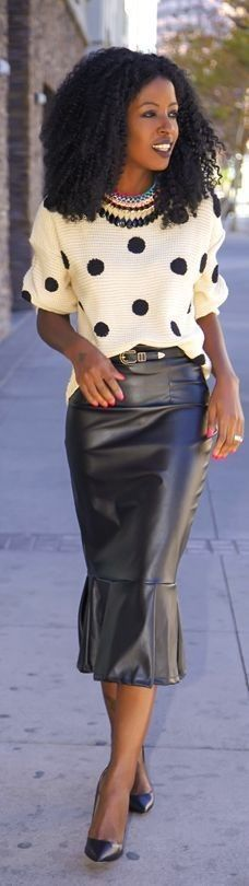 LoLoBu - Women look, Fashion and Style Ideas and Inspiration, Dress and Skirt Look #lolobu