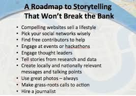 Image result for storytelling roadmap