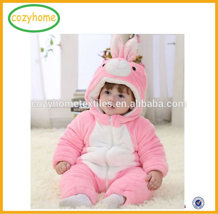 Amazon hot sale winter wholesale baby bodysuit child clothing baby winter clothing newborn clothes animal cosplay romper pajamas