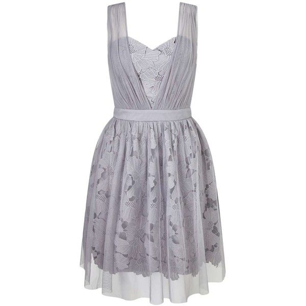Miss Selfridge Lilac Lace Mesh Dress (220 DKK) ❤ liked on Polyvore featuring dresses, lilac, miss selfridge, mesh dress, lilac dress, lace cocktail dresses and lace mesh dress