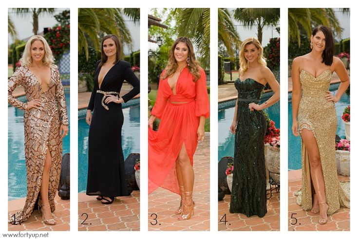 The Bachelor Australia Top 5 Frocks Episode 1 by Forty Up
