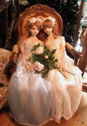 Koitsukihime Doll / Angelic Maiden head sculpt.  Exhibition in the atelier