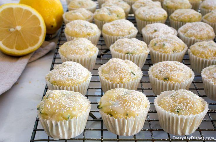 Lemon zucchini muffins recipe
