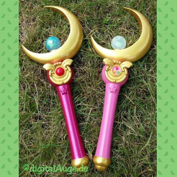 Sailor Moon - Make your own Moon Stick prop replica Tutorial