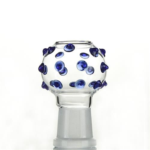 18.8mm Female Joint Blue Storm Glass Dome