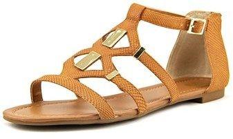 Bar III Rodeo Women Open Toe Synthetic Brown Gladiator Sandal.
