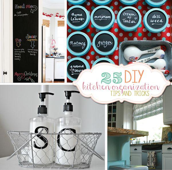 Kitchen Diy Ideas: 157 Best DIY Kitchen Organization Images On Pinterest