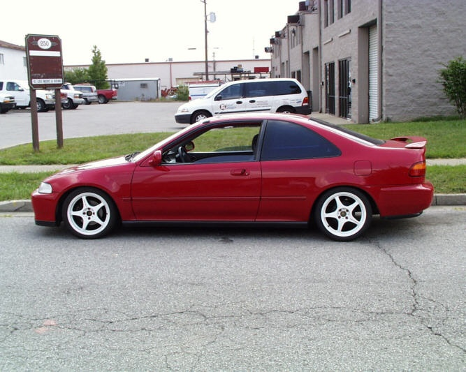 1994 Honda Civic EX was the first car I feel in love with!