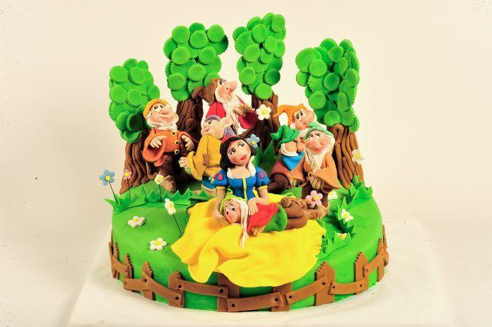 Pamuk Prenses Pasta Modelleri ve Süsleri - Pasta Tarifleri