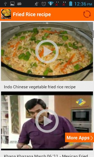 Some guests are coming over for dinner and you are wondering how to make fried rice at home ? With the help of our app's easy to make recipes and simple to use and understand fried rice recipe, you can get that done in no time at all. So just download this app and learn how to make fried rice and other chinese rice based easy recipes even while you are on the move and impress you friends, family and guests.<p>Fried rice, a Chinese dish, is normally made from steamed rice stir-fried in wok…