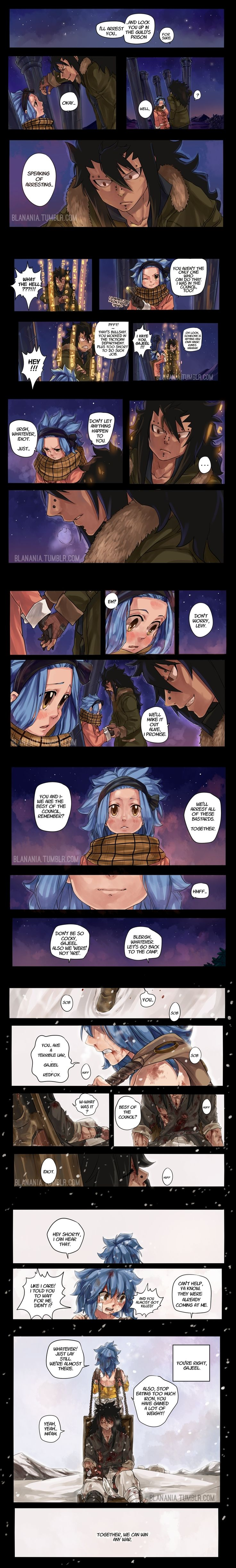 Together we can win any war by blanania.deviantart.com on @DeviantArt Gajevy Fairy Tail 471