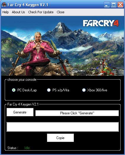 Far Cry 4 Keygen Hack Generator Tool