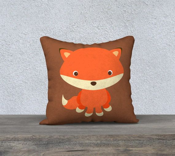 Check out this item in my Etsy shop https://www.etsy.com/ca/listing/486967237/sweet-fox-pillow-cover-nursery-pillow