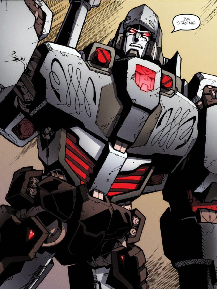 IDW MTMTE Megatron 02.   TF   Transformers megatron ...