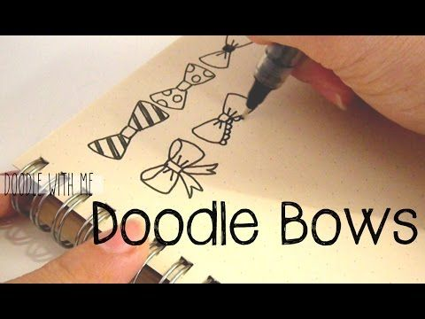 Doodle with Me : Bows