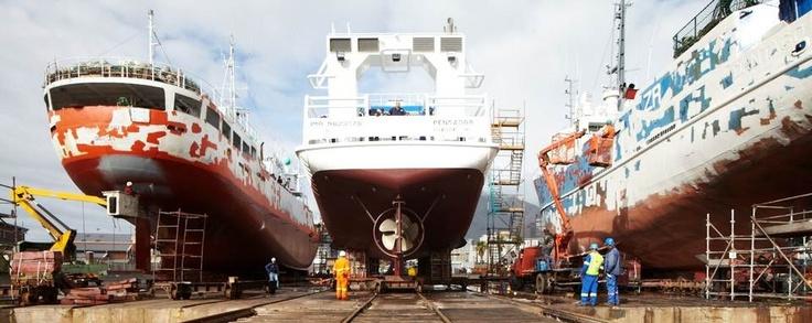 Damen Shipyards Cape Town Building in Africa for Africa http://www.damen.co.za/