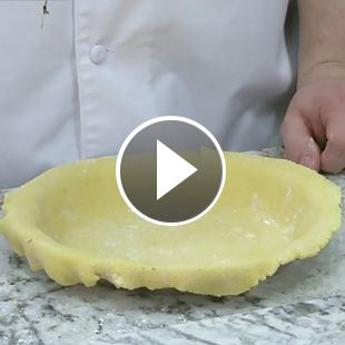 Make pie crust out of Duncan Hines cake mix!