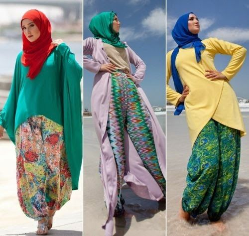 Gambar Model Baju Muslim Modern Terbaru untuk Traveling