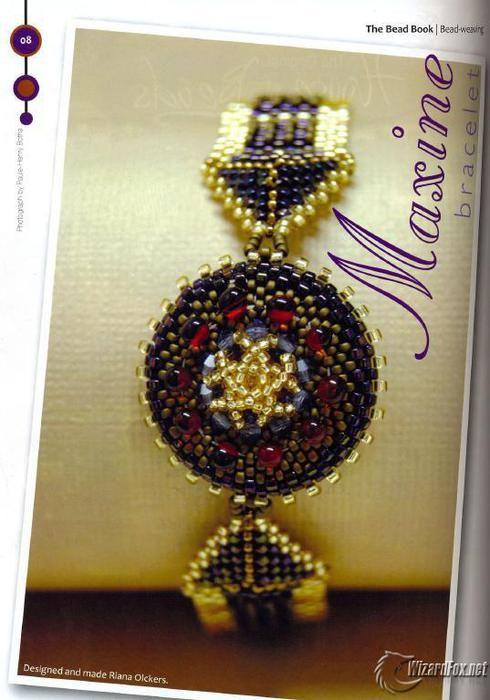 Мобильный LiveInternet Красивый браслет (как часы) | Модная_Маргарита - Синяя птица - мое творчество, мой полет... |