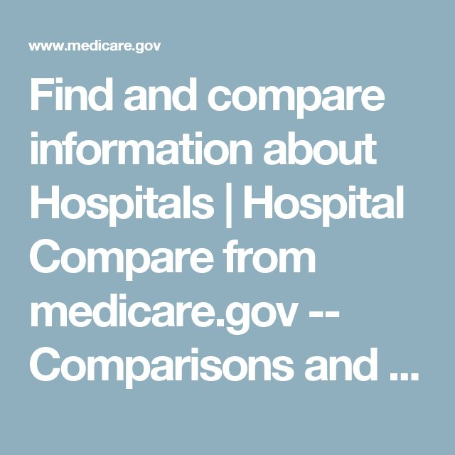 Find and compare information about Hospitals | Hospital Compare from medicare.gov -- Comparisons and statistics to find the best hospital near you FLORIDA HOSPITAL WESLEY CHAPEL, 2600 BRUCE B DOWNS BLVD. WESLEY CHAPEL, FL 33544 (813) 929-5490