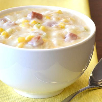 A meal in 30 minutes! This heart-warming, creamy corn soup is great for a weeknight supper entrée.