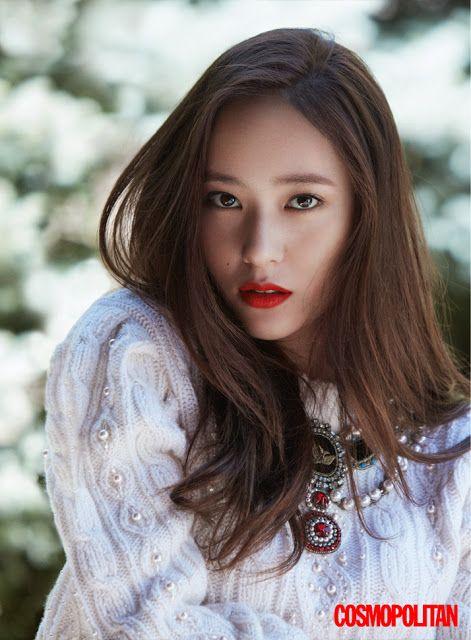 Jessica and Krystal for Cosmopolitan magazine's November issue ~ Wonderful Generation