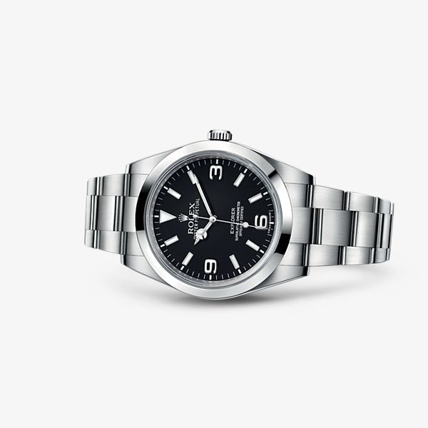 Discover the Explorer watch in 904L steel on the Official Rolex Website. Model: 214270