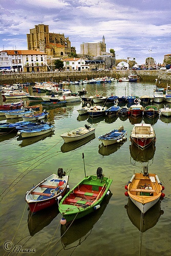 In Port, Cantabria, Northern Spain