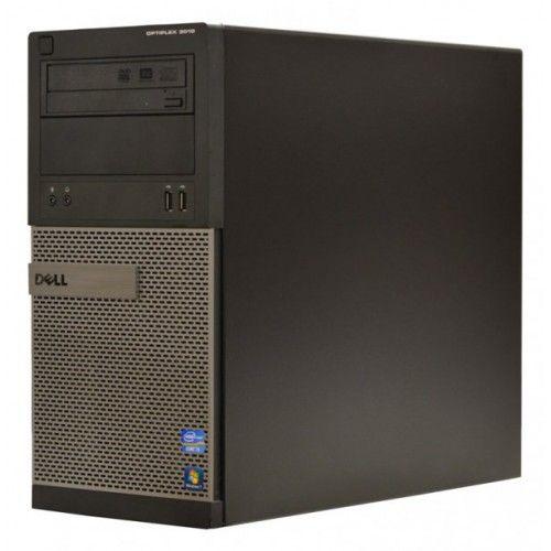 Calculator Dell Optiplex 3010 Tower, Intel Core i5 3450 3.1 GHz, 8 GB DDR3, 120 GB SSD NOU, DVDRW, Placa video ATI Radeon HD5450, 1 GB GDDR3, Windows 8.1, 3 ANI GARANTIE