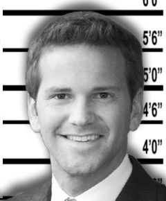 Aaron Schock Congress Illinois Mugshot  You people in Illinois sure have your hands full of corrupt politicians! What's going on in Illinois that all these Representatives are doing illegal soliciting! People in Illinois need to wake the hell up! Stop voting in all these corrupt politicians!