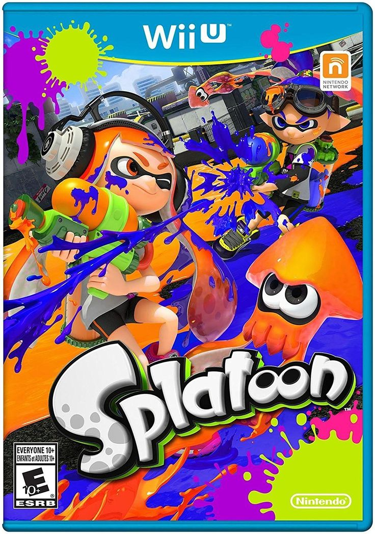 Splatoon - Wii U: Wii U: Computer and Video Games - Amazon.ca