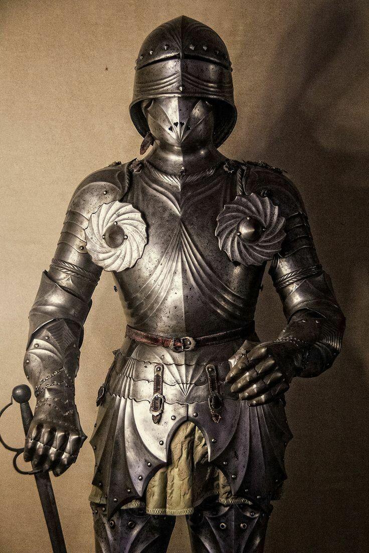 задумались высадке средневековые доспехи фото главных