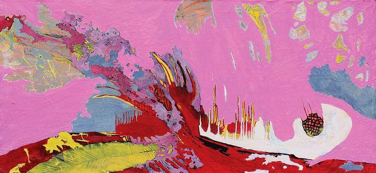 Sweetness  130x60 cm oil on canvas