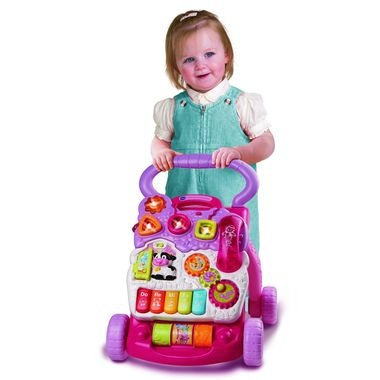 VTech First Steps Baby Walker Pink 23.99