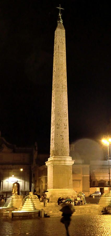 The Cleopatra Needle In Rome, Italy!