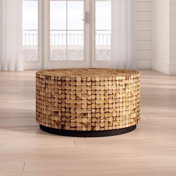 Beachcrest Home Sherlyn Coffee Table Couchtisch Holz Rustikale Couchtische Coole Couchtische